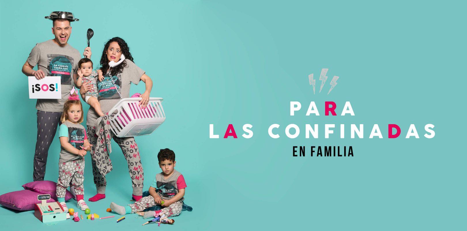 Primera colección de pijamas para Carrefour