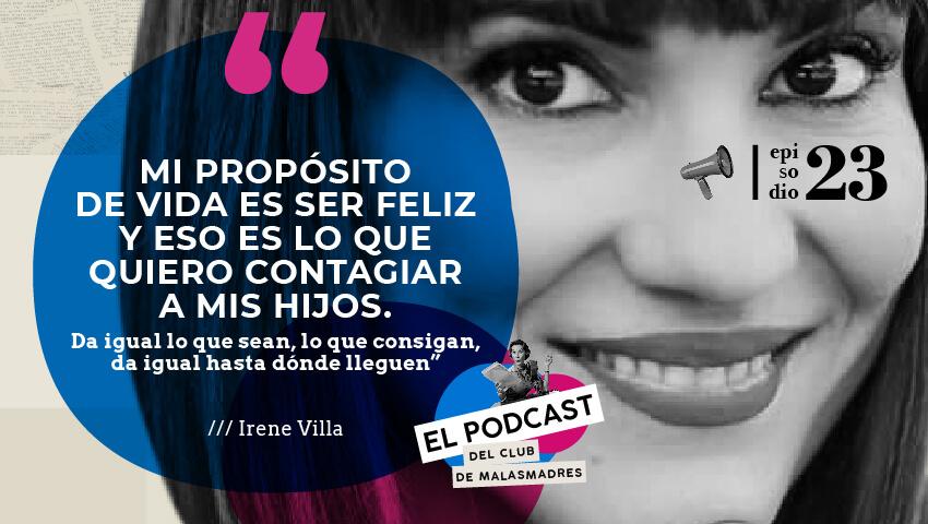 Podcast de Laura con Irene Villa