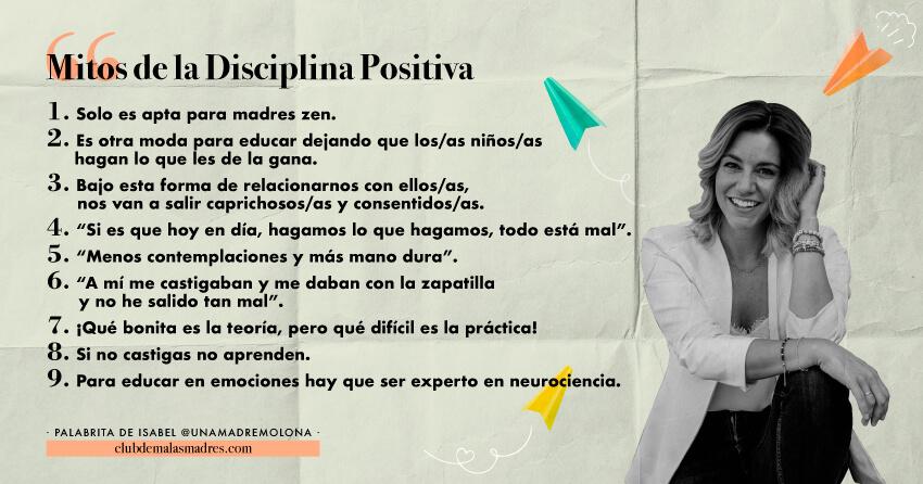 Rompiendo mitos de la disciplina positiva