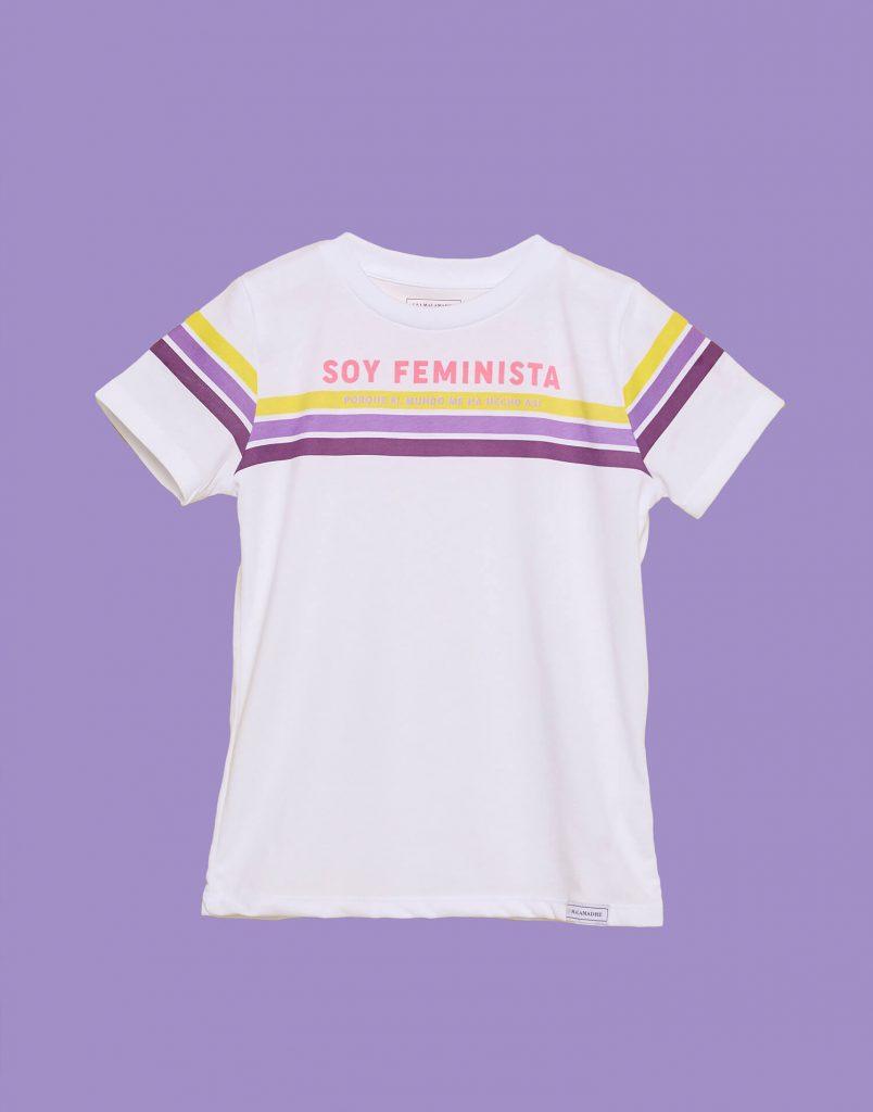 Camiseta de niño feminista