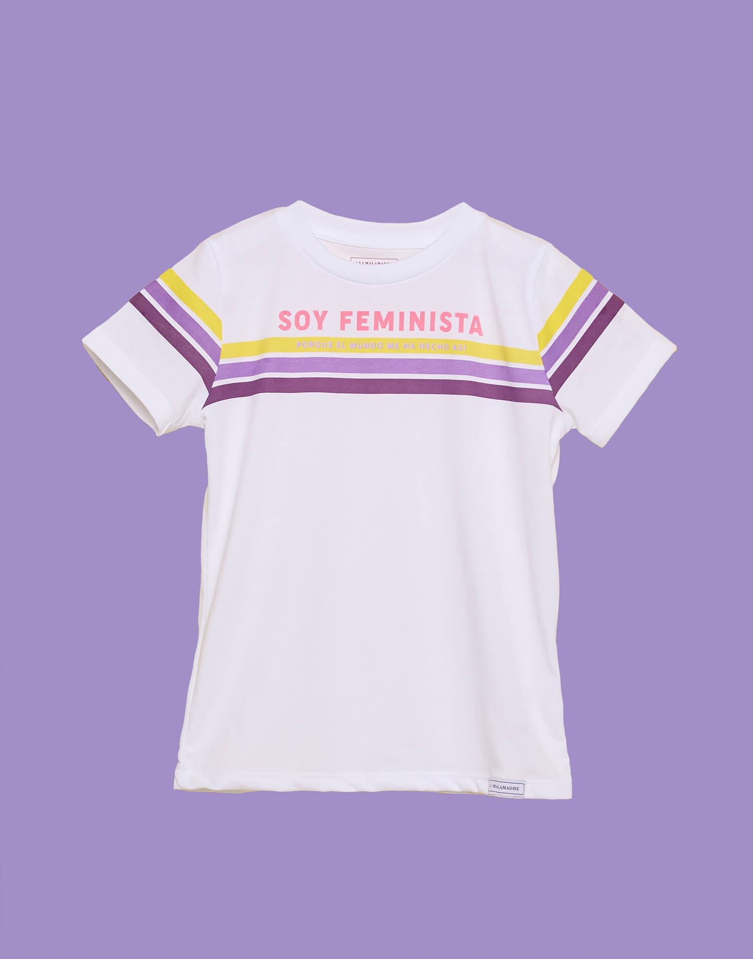 Camiseta niño 'Soy feminista'