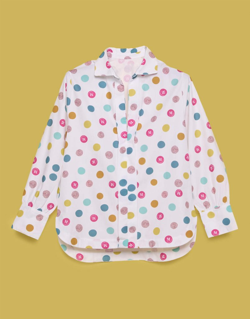 Camisa Tierrasanta lunares