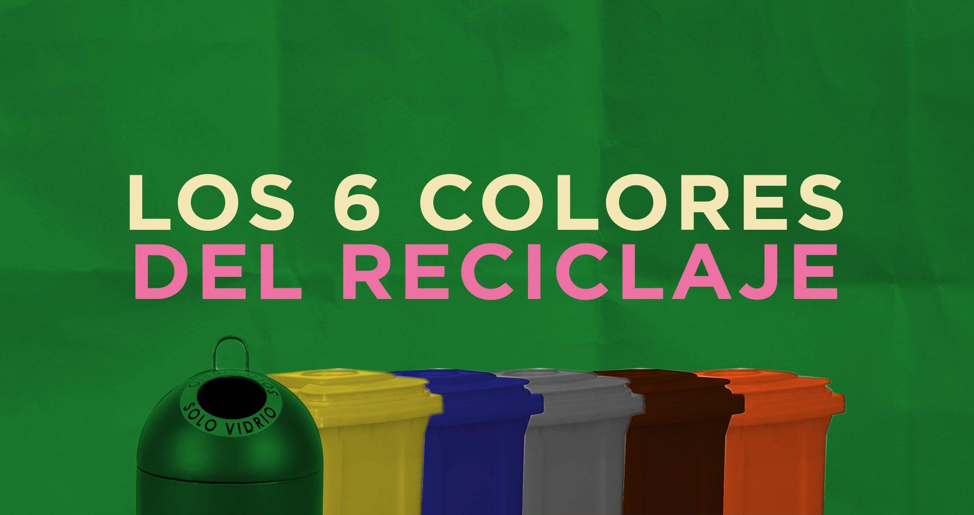los 6 colores del reciclaje