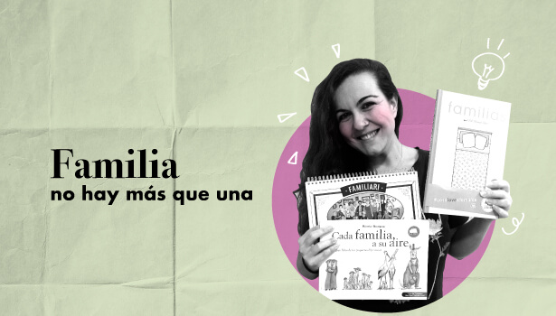 Cuentos para visibilizar la diversidad familiar desde la infancia