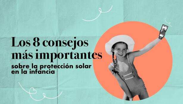 Protección solar en la infancia