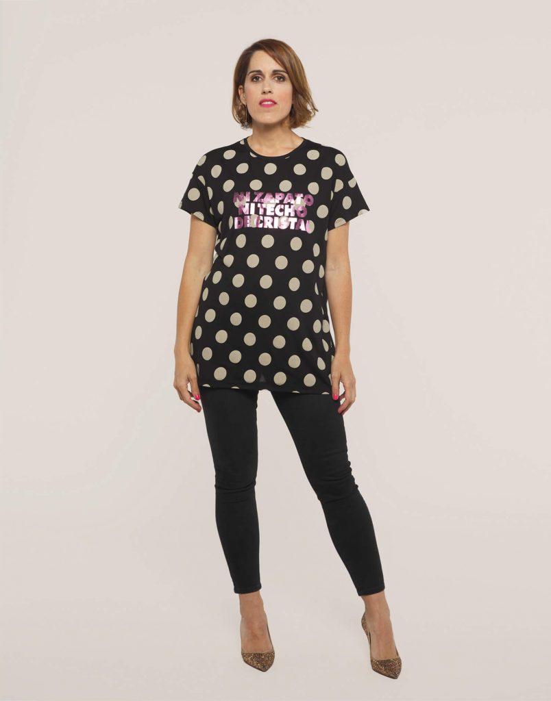 Camiseta 'Ni zapato ni techo de cristal'