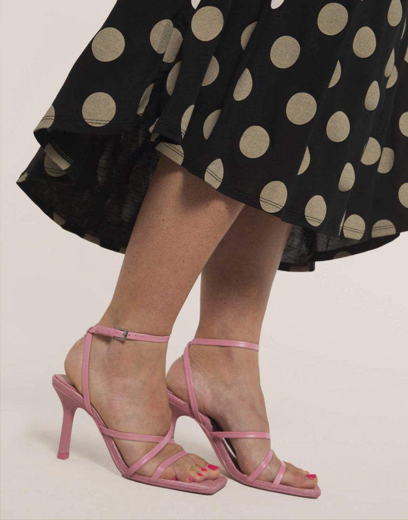 Falda 'Ni zapato ni techo de cristal'