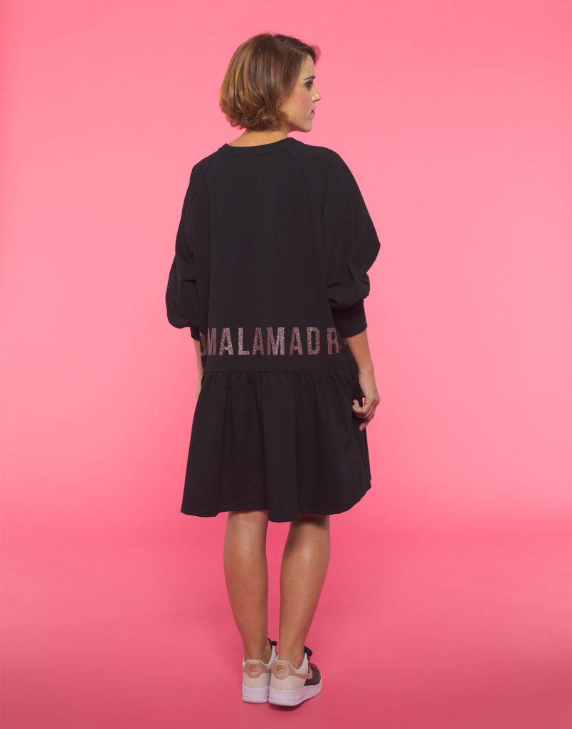 Vestido negro Soy Malamadre