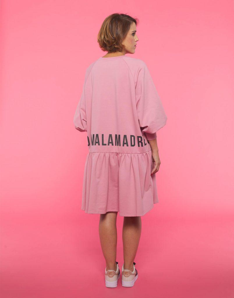 Vestido rosa Soy Malamadre