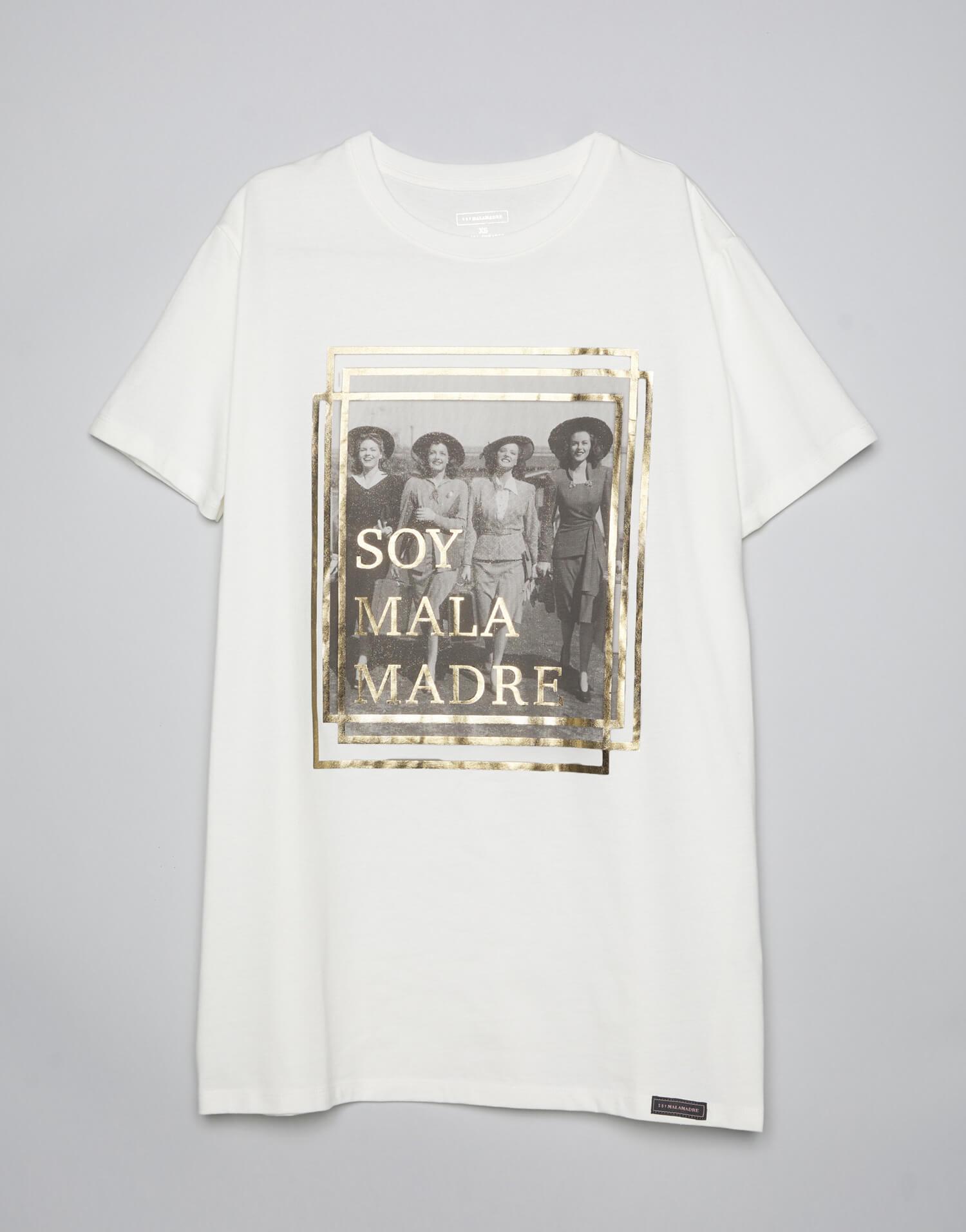 Camiseta oversize Soy Malamadre