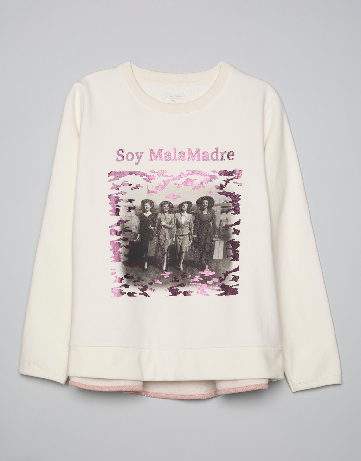 Camiseta fotográfica camuflaje Soy Malamadre