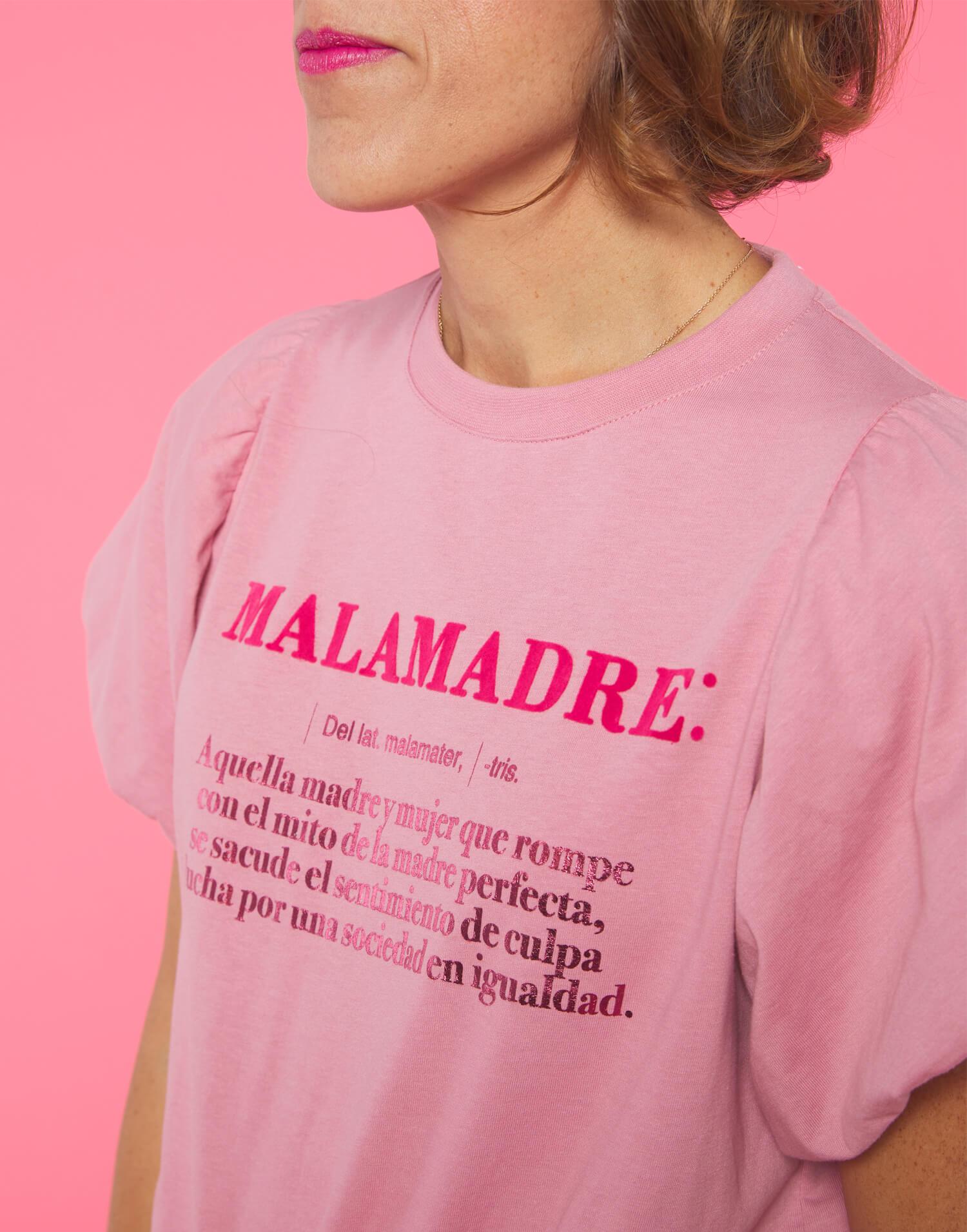 Camiseta rosa definición Malamadre