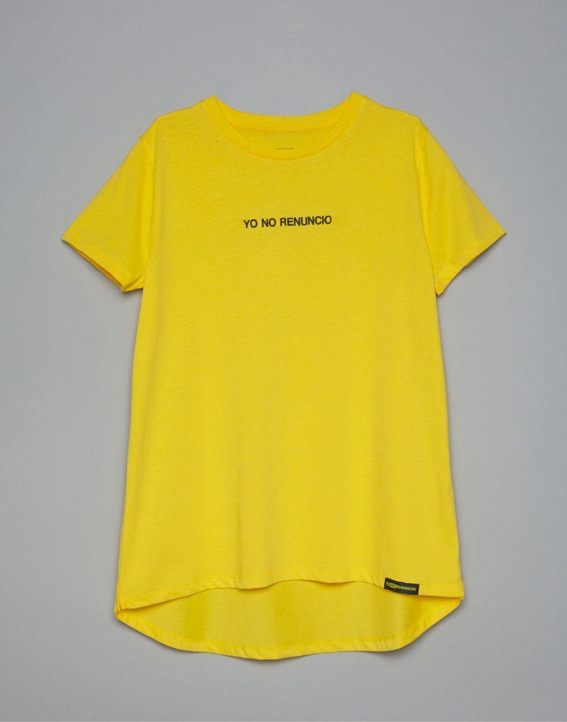 Camiseta amarilla Malamadre Yo No Renuncio