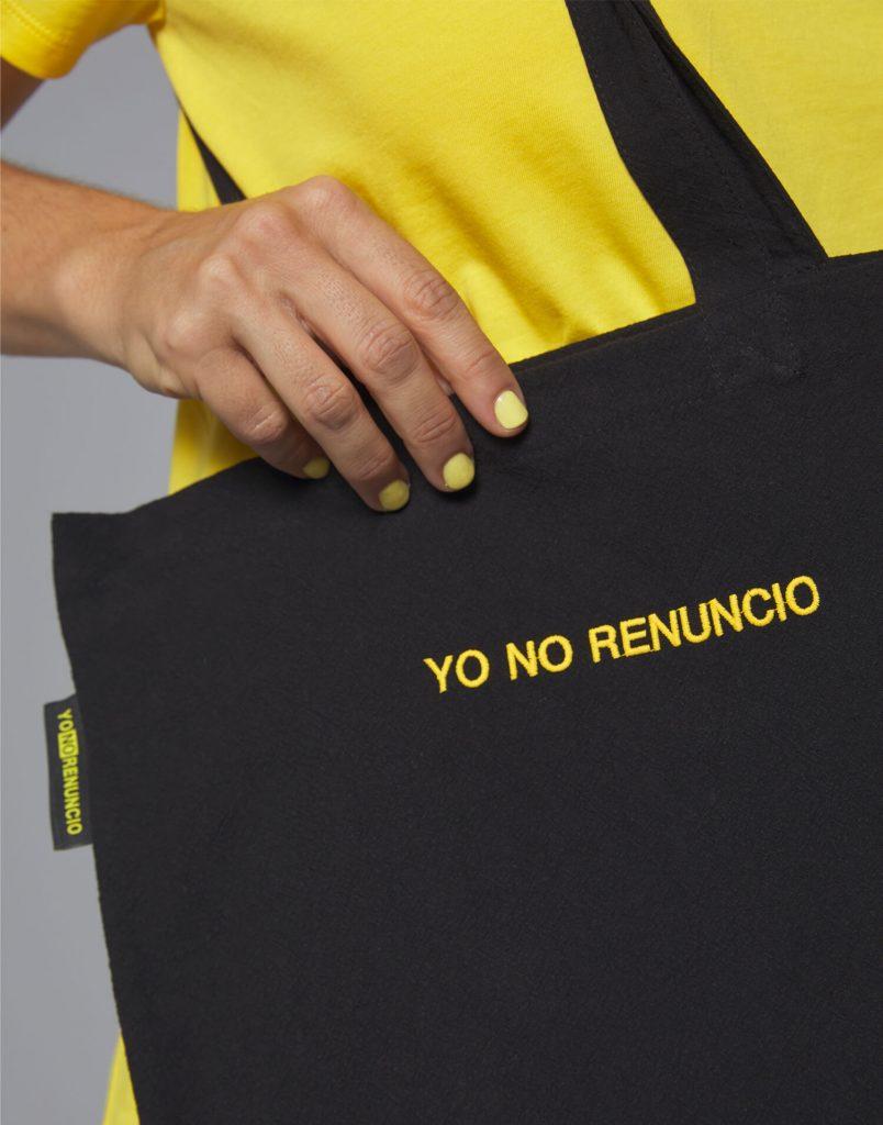 Tote bag Yo No Renuncio