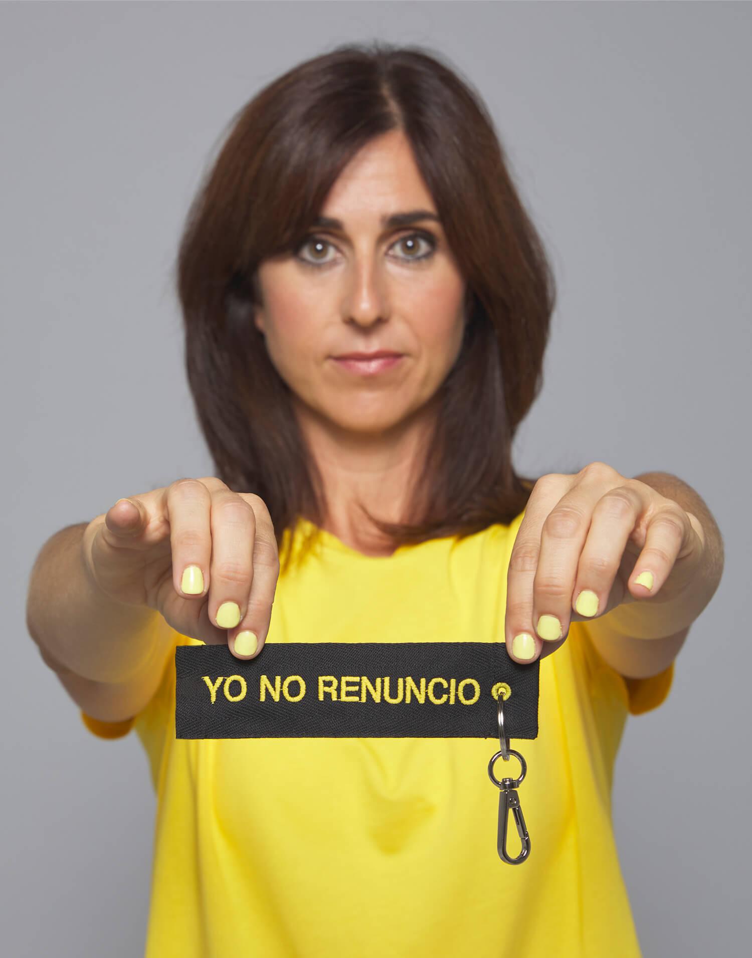 Llavero Yo No Renuncio