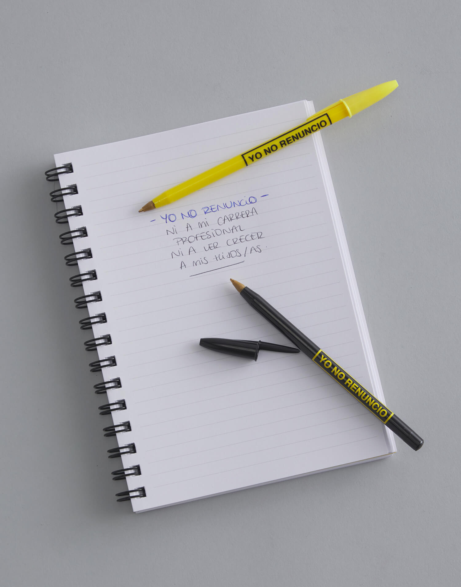 Pack de bolígrafos Yo No Renuncio