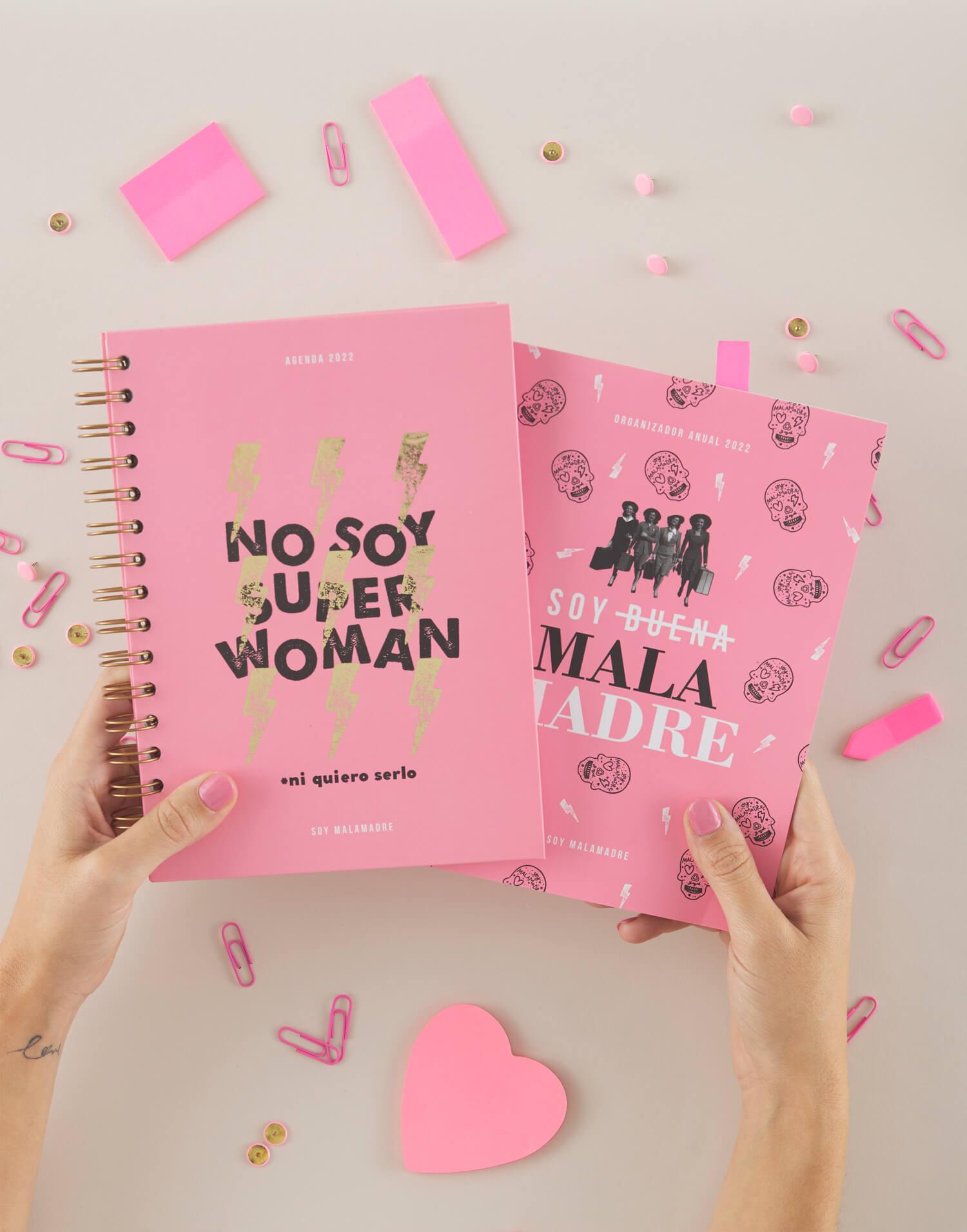 Agenda No Soy Superwoman + cuadernillo 2022