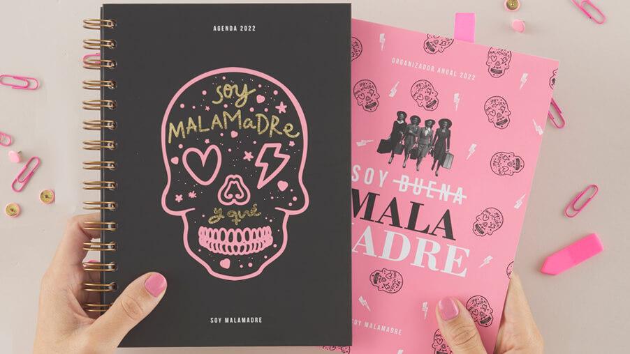 Colección Agendas Soy Malamadre