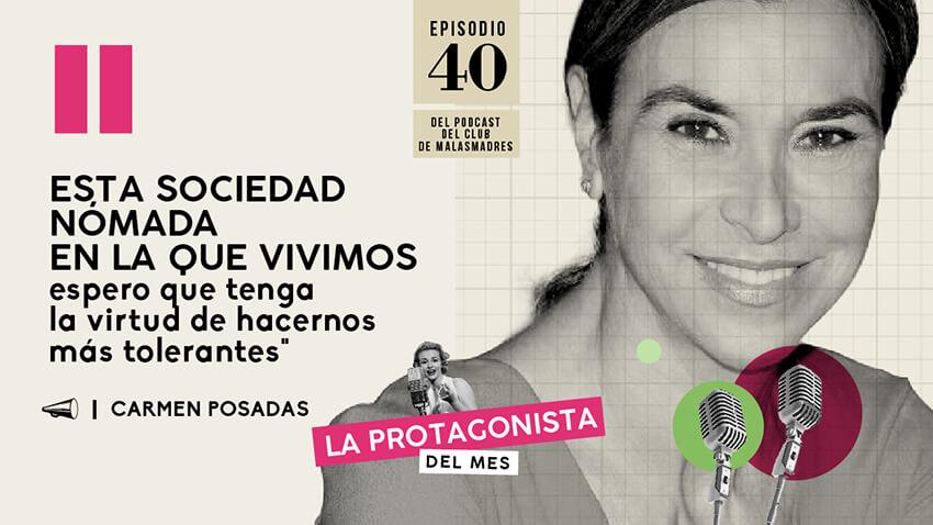 Conversando con la escritora Carmen Posadas