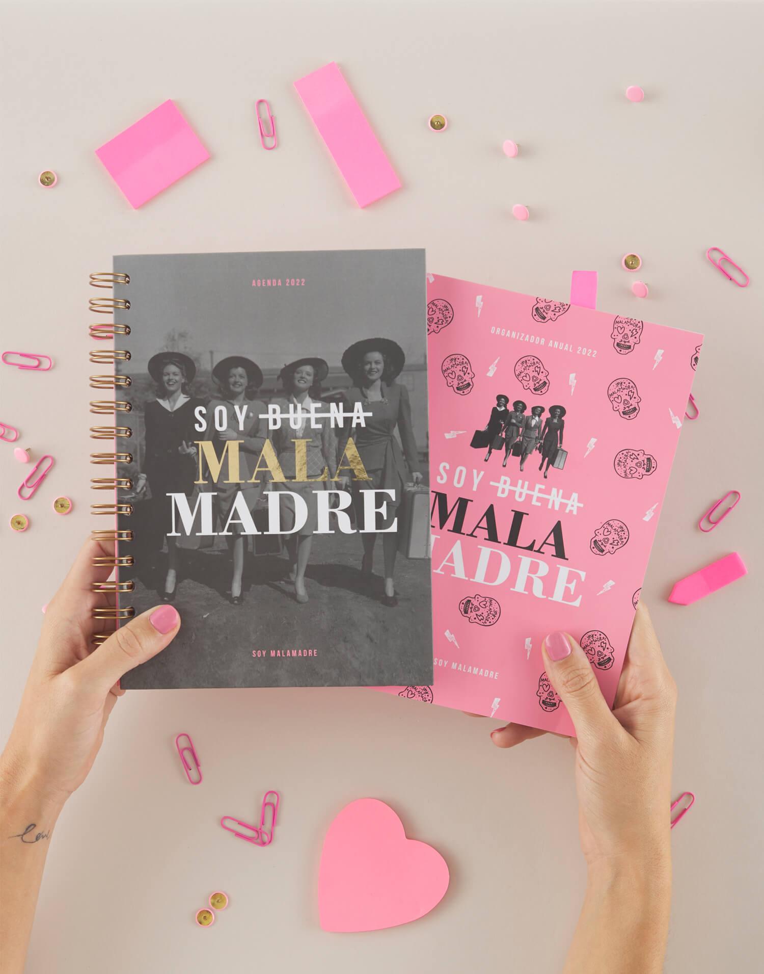 Agenda Soy buena Malamadre + cuadernillo 2022